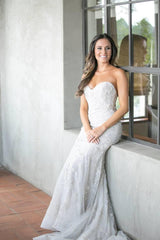 Lazaro 'Beaded Dress' - Lazaro - Nearly Newlywed Bridal Boutique - 9
