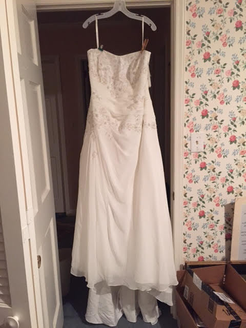 David's Bridal 'Ivory' - David's Bridal - Nearly Newlywed Bridal Boutique - 1