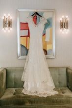 Load image into Gallery viewer, Allure Bridals 'G223-2455' size 2 used wedding dress front view on hanger