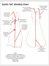 Load image into Gallery viewer, Sophia Tolli 'Y11637' size 16 used wedding dress view of design of dress