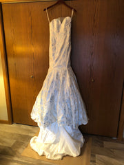 Isabelle Armstrong 'Audrey' size 8 new wedding dress front view on hanger