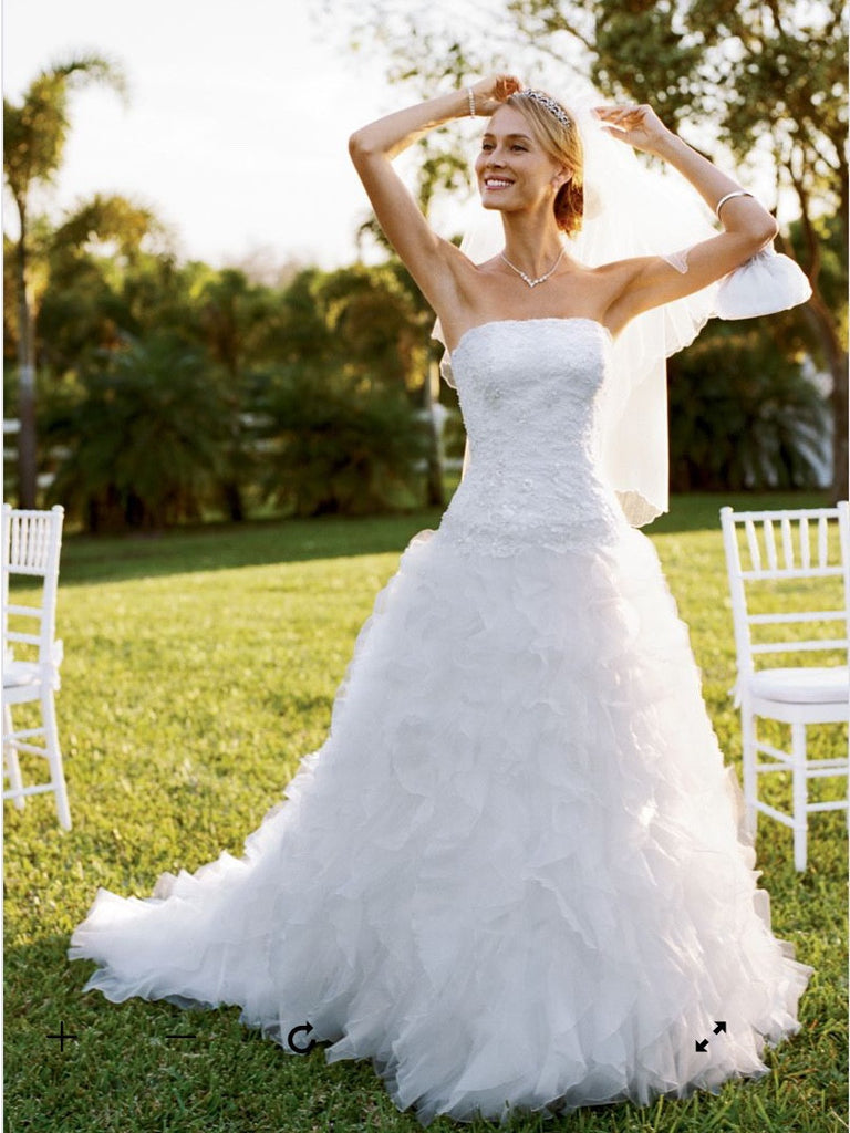 Monique luo - David's Bridal - Nearly Newlywed Bridal Boutique - 4