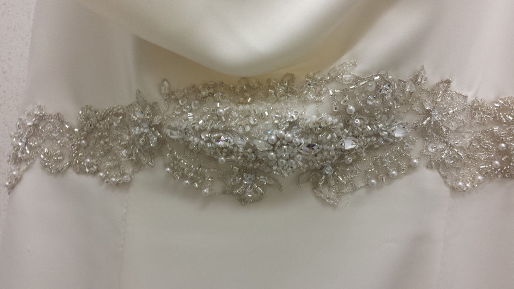 Galina 'SWg564' size 8 new wedding dress view of belt