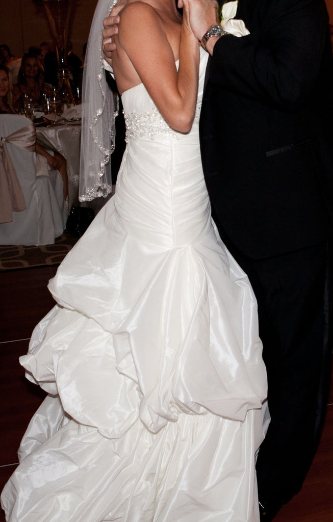 Demetrios Sweetheart Gown - Demetrios - Nearly Newlywed Bridal Boutique - 3