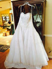 Oleg Cassini 'CT258' - Oleg Cassini - Nearly Newlywed Bridal Boutique - 1