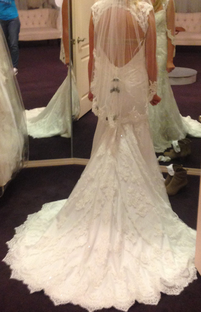 Casablanca '2195' - Casablanca - Nearly Newlywed Bridal Boutique - 2