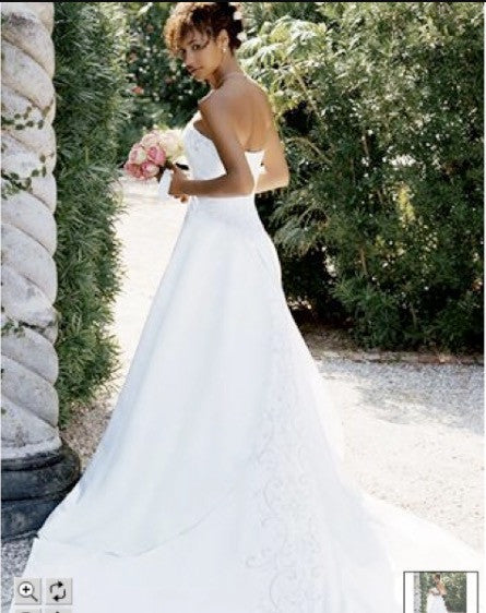 David's Bridal 'Michaelangelo' - David's Bridal - Nearly Newlywed Bridal Boutique - 4