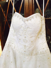 Oleg Cassini 'CT258' - Oleg Cassini - Nearly Newlywed Bridal Boutique - 2