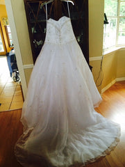 Oleg Cassini 'CT258' - Oleg Cassini - Nearly Newlywed Bridal Boutique - 3