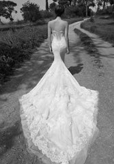 Inbal Dror '13-08' size 2 used wedding dress back view on model