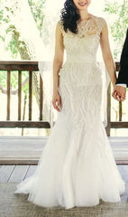 Monique Lhuillier 'Luella' - Monique Lhuillier - Nearly Newlywed Bridal Boutique - 4