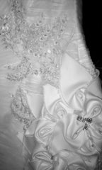 Anne Barge 'Avery' Silk Taffeta Ball Gown - Anne Barge - Nearly Newlywed Bridal Boutique - 4