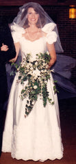 Priscilla of Boston off the shoulder - Priscilla of Boston - Nearly Newlywed Bridal Boutique - 1