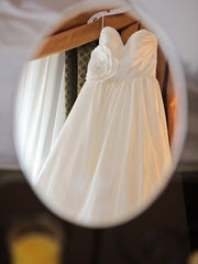 Wtoo Silk Taffeta Mimi Strapless Wedding Dress - Wtoo - Nearly Newlywed Bridal Boutique - 3