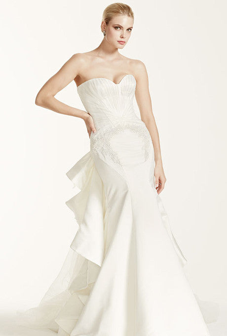 Zac Posen 'Strapless Duchess' - zac posen - Nearly Newlywed Bridal Boutique - 4
