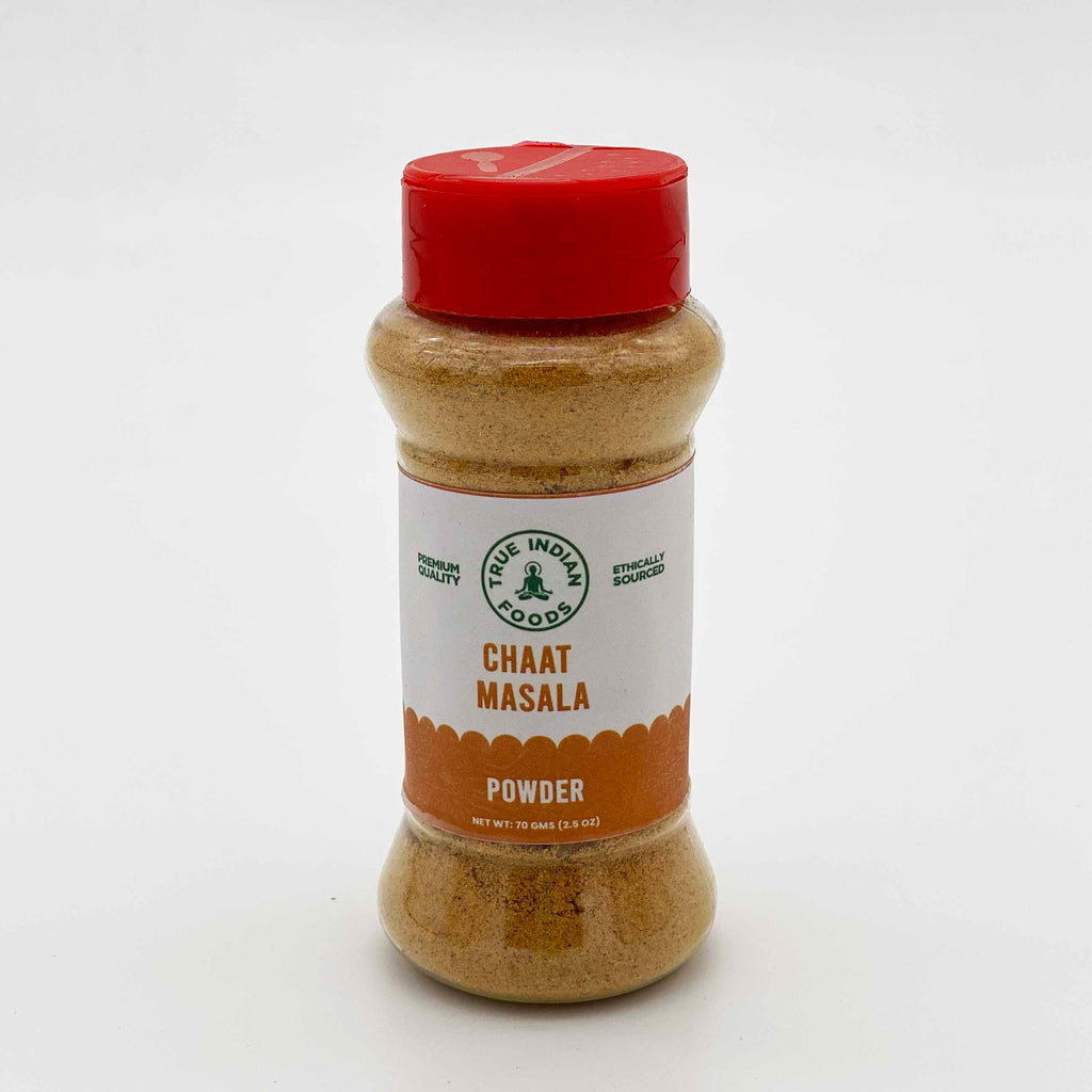 Indian grocery online New Zealand, true indian foods chaat masala 70g