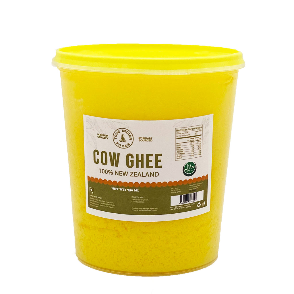 New Zealand pure cow indian cow ghee purified butter halal
