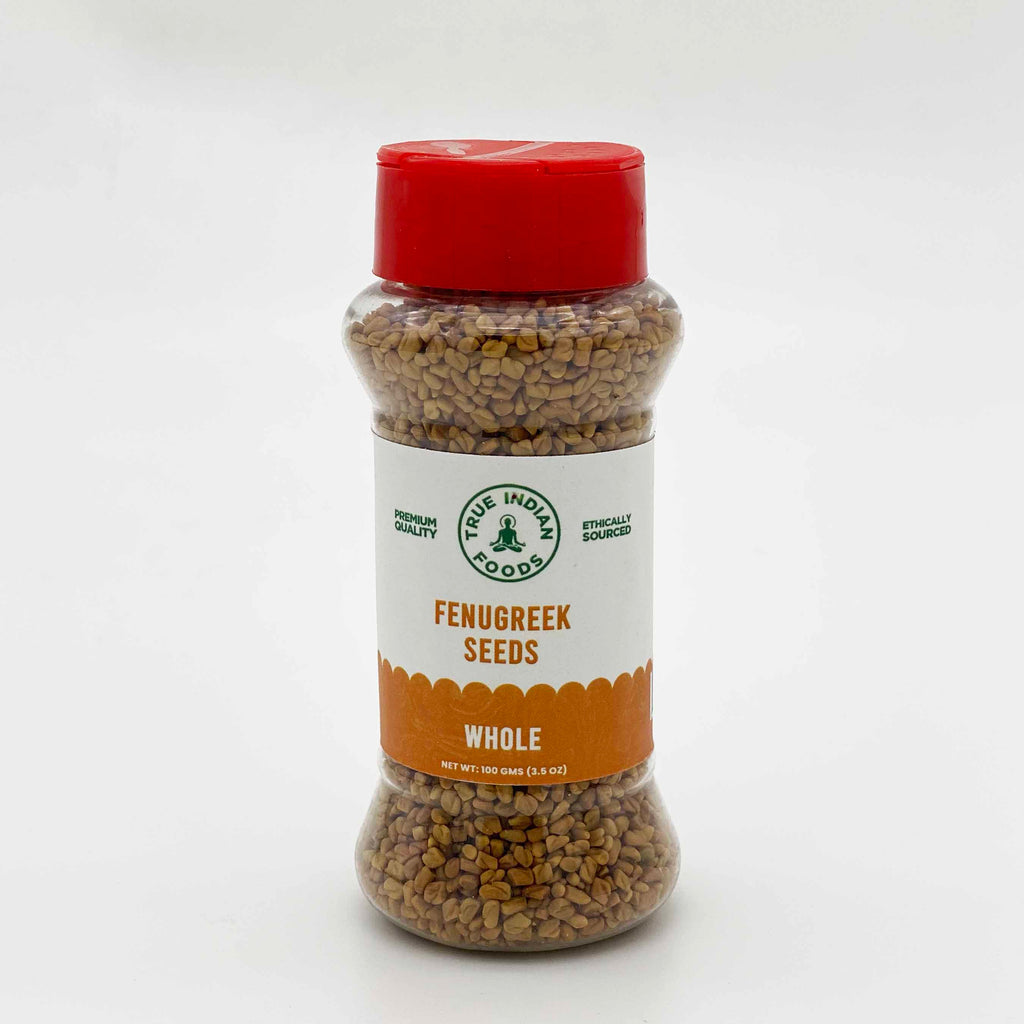 Indian grocery online New Zealand Christchurch, true indian foods Fenugreek seeds whole 100g