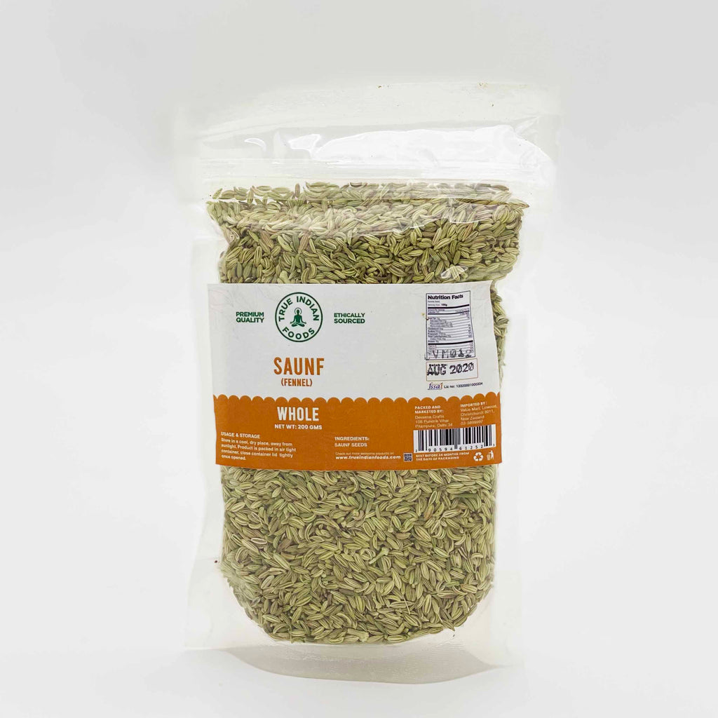 True Indian foods fennel seeds saunf 200g