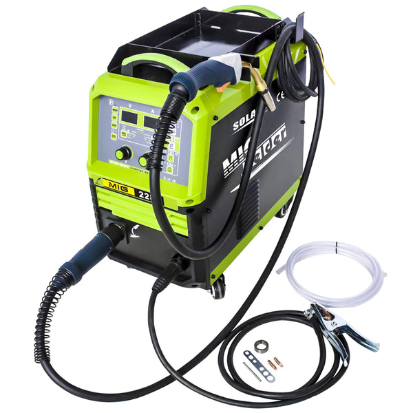 Solary Electricals MIG228S Inverter aluminum MIG Welder - Auto Body Collision Repair Welding Products