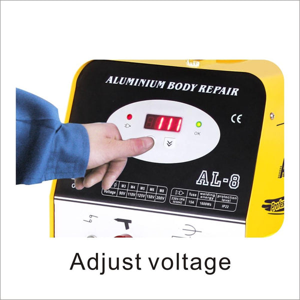 Solary Electricals Digital Aluminium CD Spot Welder - 230V, Model AL8 - Auto Body Collision Repair Welding Products