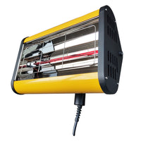 Solary Electricals Single-Head Hand Held Infrared Curing Lamp - Model B1M10 - Auto Body Collision Repair Welding Products