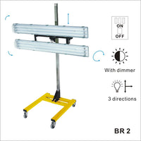 Solary Electricals Mobile Lumen LED Work Light - Model BR2 - Auto Body Collision Repair Welding Products