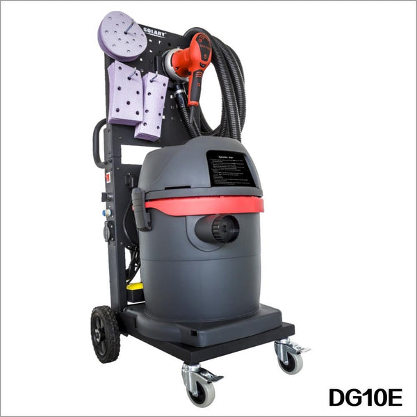 Solary Electricals DG10 Dust-Free Sanding System - Auto Body Collision Repair Welding Products