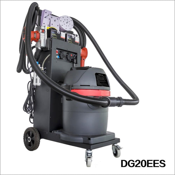 Solary Electricals DG20 Dust-Free Sanding System - Auto Body Collision Repair Welding Products