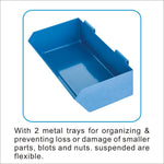 Solary Electricals PS306 Heavy Duty Parts Cart Material Handing Cart - Auto Body Collision Repair Welding Products