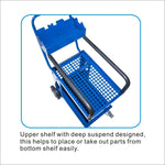 Solary Electricals PS308 Parts Cart Heavy Duty Cart - Auto Body Collision Repair Welding Products