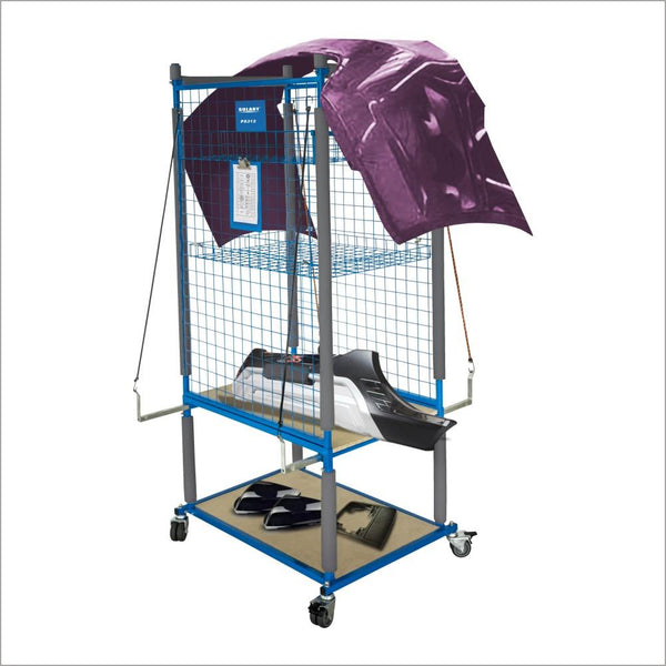 Solary Electricals PS312 Parts Cart Heavy Duty Cart - Auto Body Collision Repair Welding Products