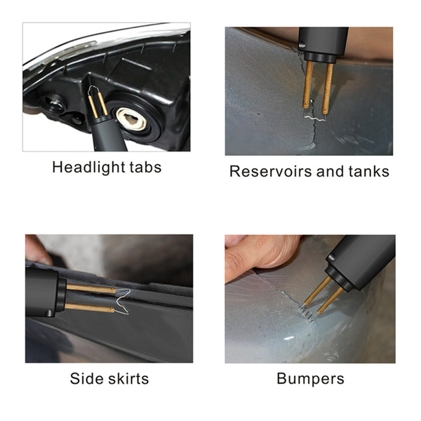 SOLARY Hot Staples for Car Bumper Repair Plastic Welding - Auto Body Collision Repair Welding Products