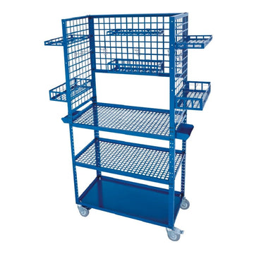 Solary Electricals PS306 Heavy Duty Parts Cart Material Handing Cart