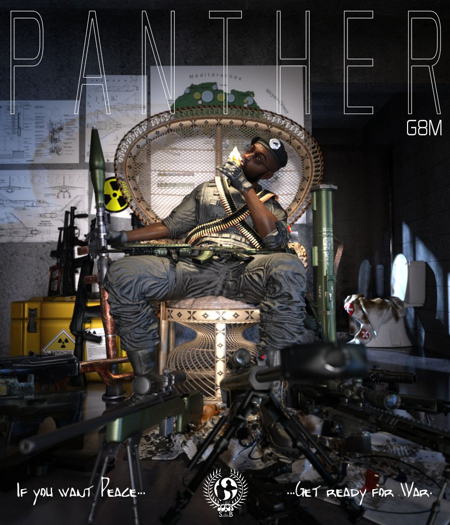 Panther G8M - www.SdeBStore.com