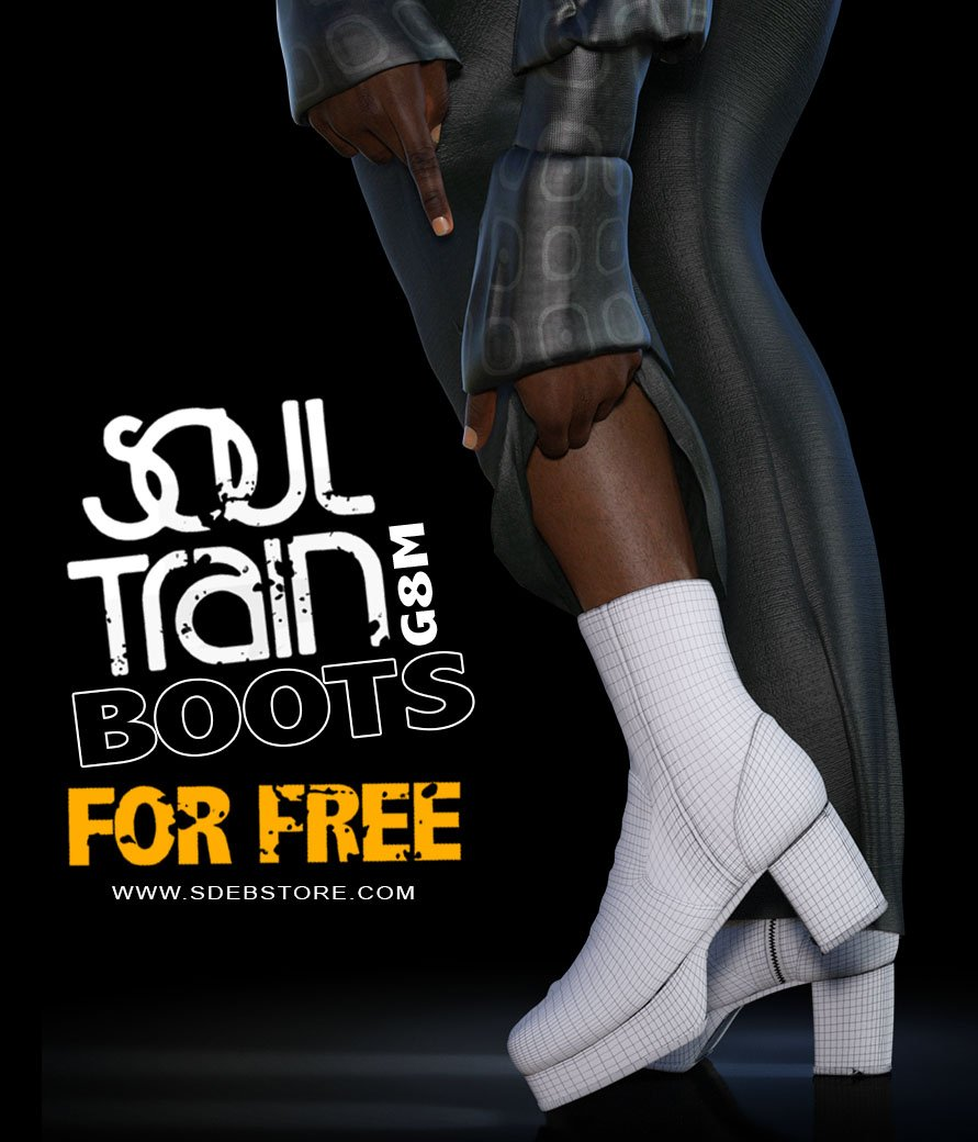 SoulTrain Boots G8M_FREE - www.SdeBStore.com