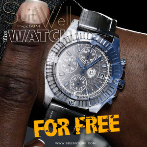 SuitWell Watch G8M - FREE - www.SdeBStore.com