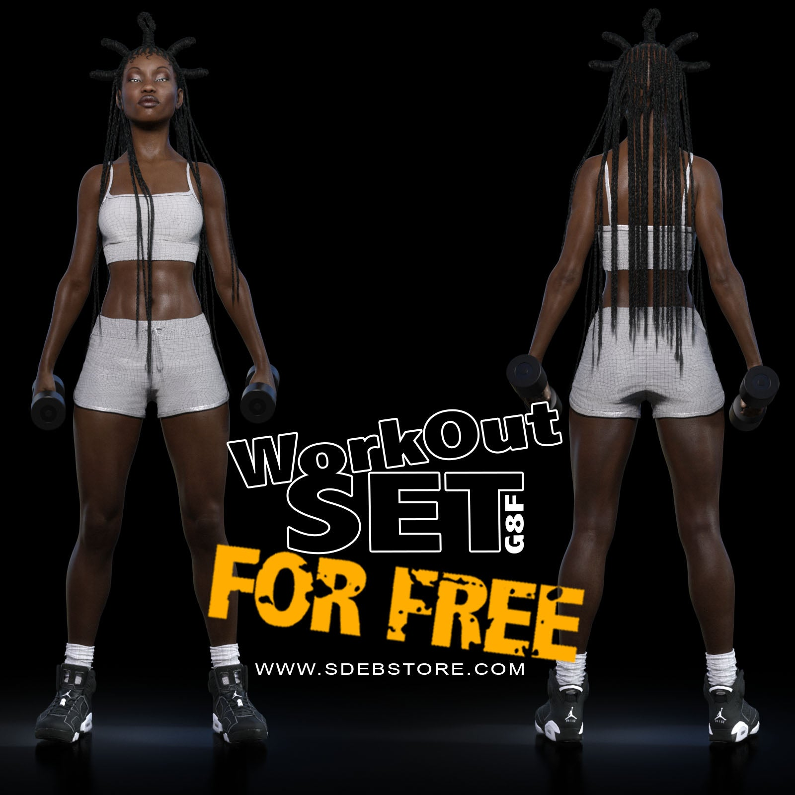 WorkOut Set G8F-FREE - www.SdeBStore.com