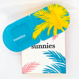 sunnies self-heating eye masks, 5 masks