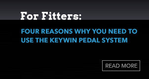 Keywin is the Best Pedal System for Fitters