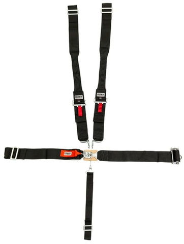 Crow 5-Way Ratchet Latch Dog Bone Seat Belts