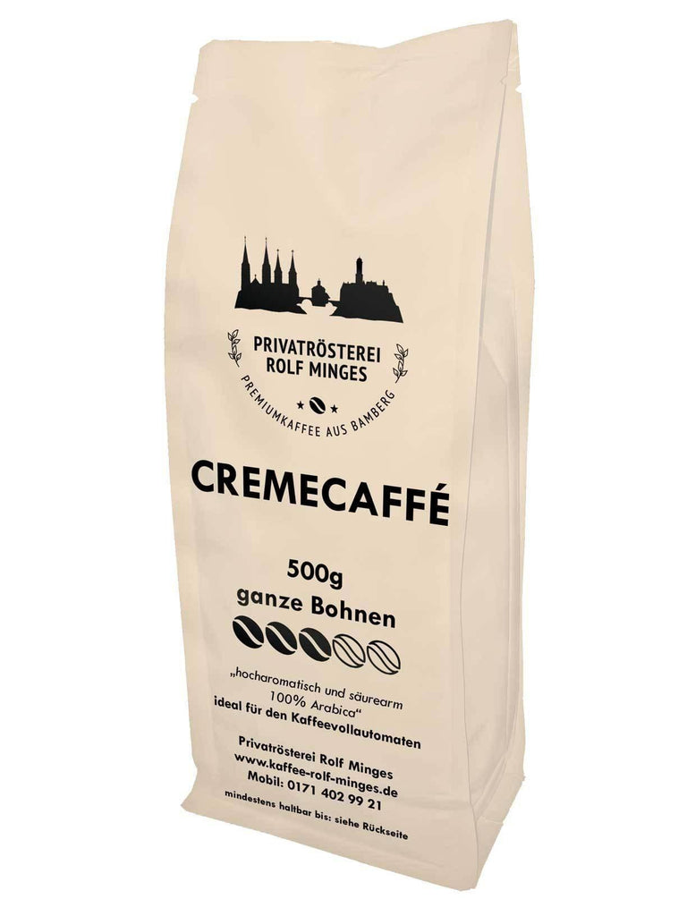 Privatroesterei Rolf Minges Creme Caffee - 500g - Privatroesterei Rolf Minges