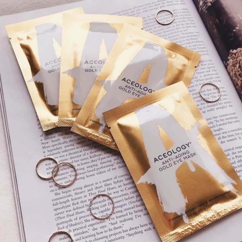 PRODUCT Aceology Gold Eye Mask 6 Pack