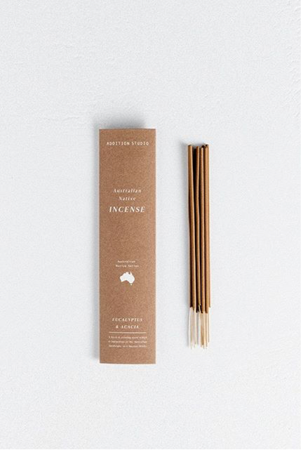 Addition Studio Eucalyptus and Acacia Incense