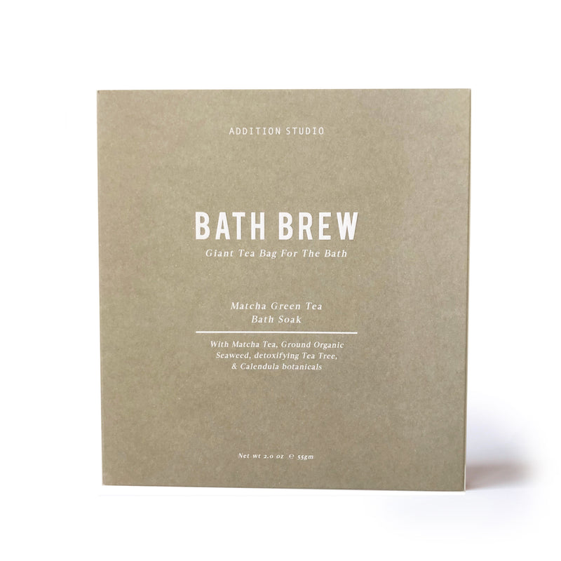 Addition Studio Matcha Green Tea Bath Brew 100g
