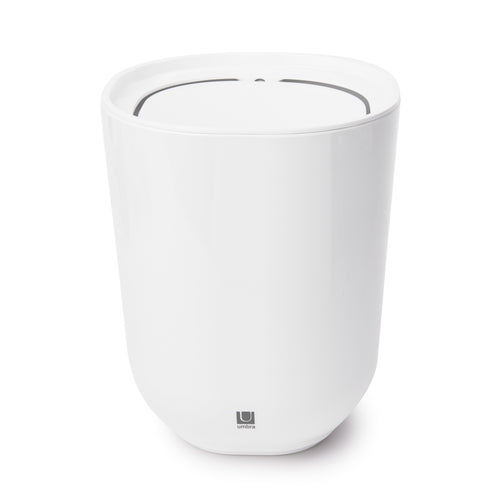 Bathroom Trash Cans | color: White