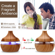 Load image into Gallery viewer, Aroma Essentials 300ml Humidifier/Essenital Oil Burner
