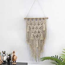 Load image into Gallery viewer, Large Macrame Wall Hanging Tapestry