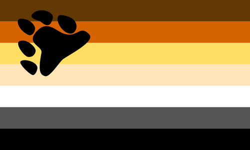 Bear Pride Flag - 3x5' (90x150cm) - Big Gay Store