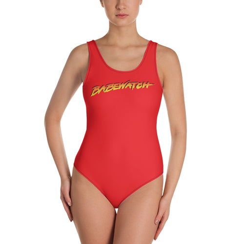Babewatch One-Piece Swimsuit - Big Gay Store